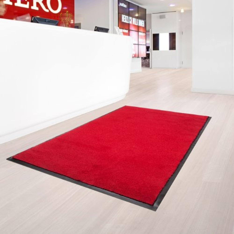 Fußmatte Sauberlauf Uni Rot in 6 Größen, Größen, Größen, 60x180cm B0050BRUDO e62cd3