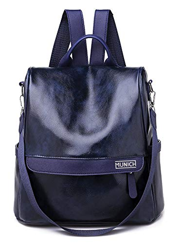 Munich 499905  Bolso mochila para Mujer  Azul    15x30x30 cm  W