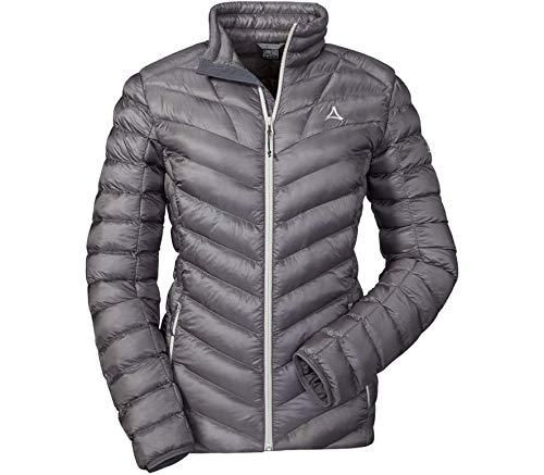 Schöffel Damen Thermo Jacket Annapolis Daunenjacke, Silver Filigree, 34