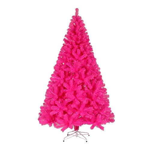 AISHANG Árbol de Navidad Artificial Rosa, 180 cm 6 pies, PVC, Mixto,...