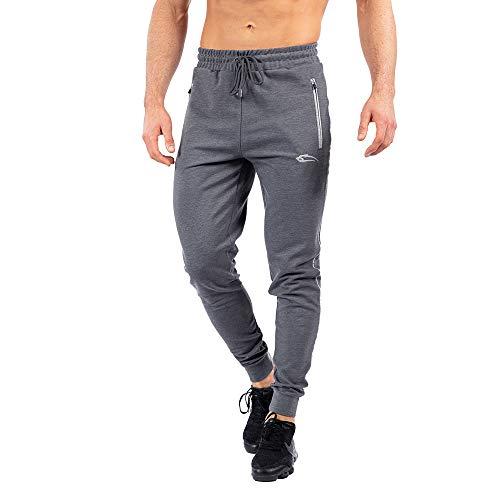 SMILODOX Jogginghose Nightfall   Trainingshose   Sport & Gym   Fitness   Freizeit   Sporthose   Jogger   Hose lang   Trends, Größe:XXXXL, Farbe:Anthrazit