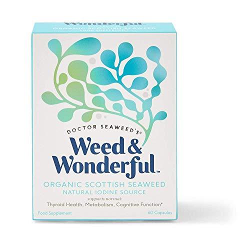 Seaweed & Co Organic Scottish Seaweed 60 Vegan Capsules, 60 Capsules