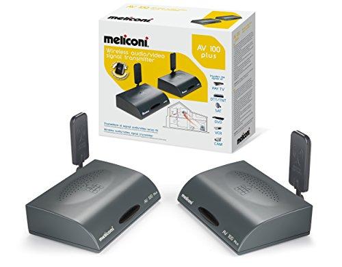 Meliconi AV 100 PLUS - Transmettitore di Segnali Audio/Video Senza Fili