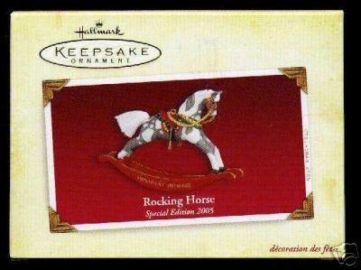 Price comparison product image Hallmark Ornament 2005 Rocking Horse Special Edition Ornament Premiere