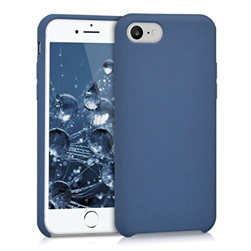 kwmobile Apple iPhone 7/8 Hülle - Handyhülle für Apple iPhone 7/8 - Handy Case in Dunkelblau