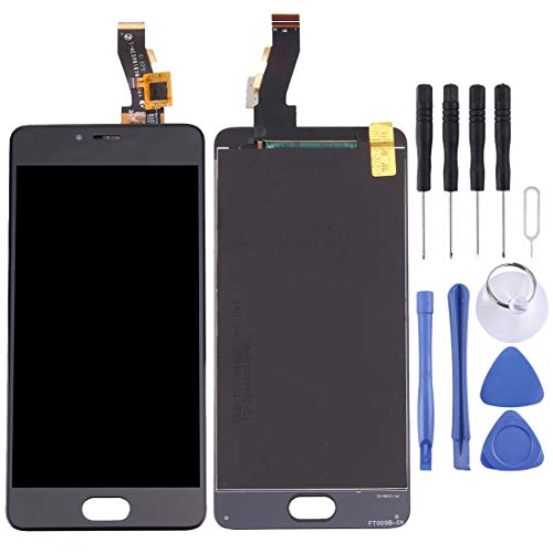 ASAMOAH Display LCD sostitutivo del Telefono Cellulare Schermo LCD e Digitizer Full Assembly per Meizu M3S / Meilan 3s