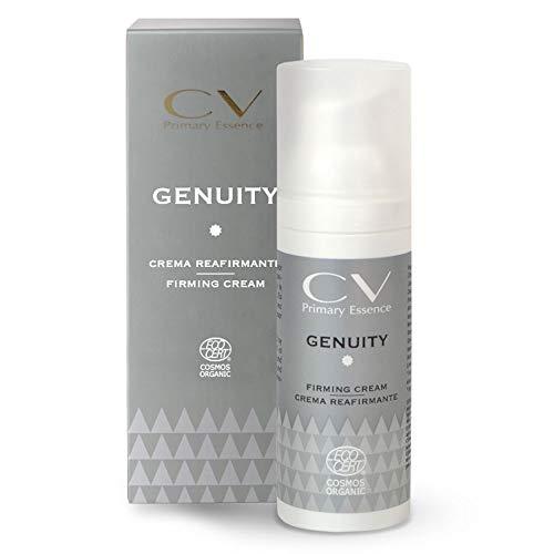 GENUITY Crema reafirmante de CV Primary Essence 50 ml, Crema hidratante y reafirmante ecológica