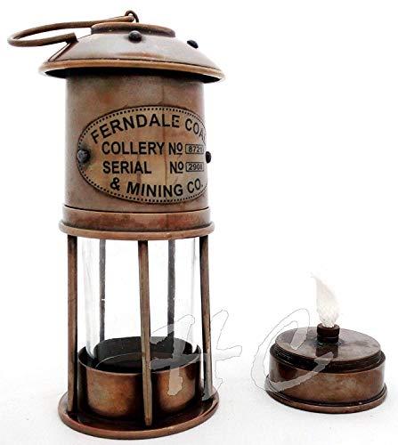 Calvin Handicrafts Linternas de Aceite - Lámpara de Aceite