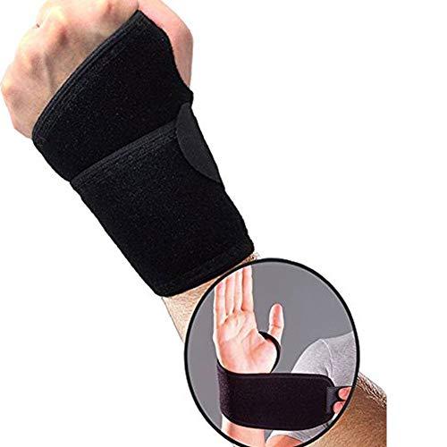 Thumb & Wrist Stabilizer Brace - Left & Right Both Hand Thumb Support Ganglion Cyst Treatment Brace Breathable Neoprene Adjustable Elastic HOOK & LOOP Wristband Wrist Band Support Wrist Support Brac