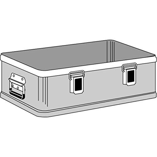 Zarges 40500 Alu-Kiste K470 Plus UT IM:550x350x150mm