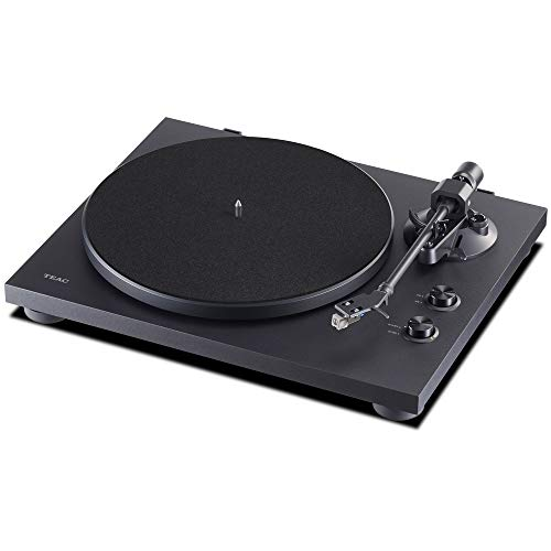TEAC TN-280BT-A3/B [Analog Turntable with Bluetooth Transmitter, Belt Drive System]