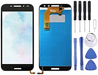 Repair Parts LCD Screen and Digitizer Full Assembly for Vodafone Smart N8 VFD610(Black) Spare Parts (Color : Black)