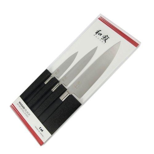 Kai 67S-300, Set di coltelli Wasabi, 3 pz, 6710P, 6715U, 6720C