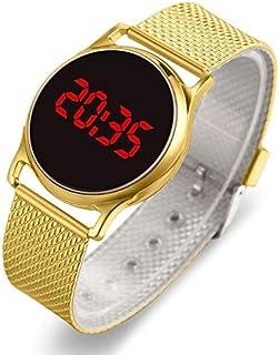 JINN-Women's Watches - Fashion 2020 Women Watches Rose Gold Stainless Steel Mesh Strap Ladies Electronic Wristwatches Mini...