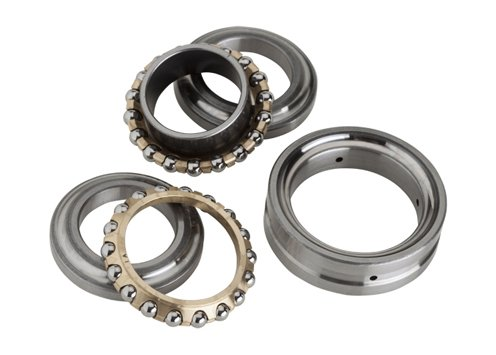 NTN 742026/GNP4 Ball Thrust Bearing - Double-Direction, 130 mm Bore, 200 mm OD, 69 mm Width, Separable
