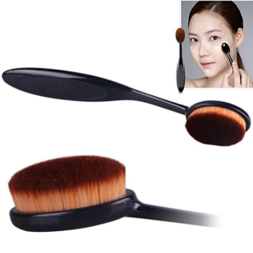 Kosmetik Make-up Face Powder Rouge Zahnbürste Curve Grundlagen - Bürste