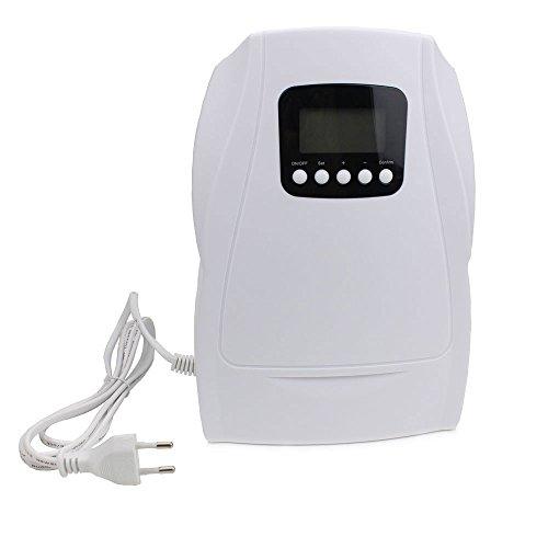 AMOWON Generador de Ozono Purificador de Aire,Ozonizador para Esterilizador de Agua Frutas Elimina El Polvo, El Polen, El Humo, Los Olores DoméSticos Y MáS -(500Mg / h/Rango de Tiempo 5-30Min)