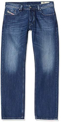 Diesel Herren Straight Jeans Larkee Pantaloni, Blau (Medium Blue 008XR), W32/L32