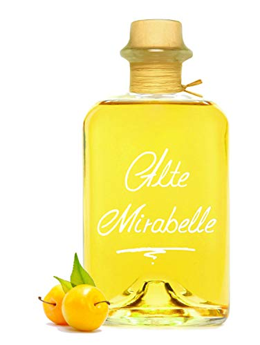 Alte Mirabelle 0,7L intensiv fruchtig & sehr mild 40% Vol. Schnaps Obstler kein Brand