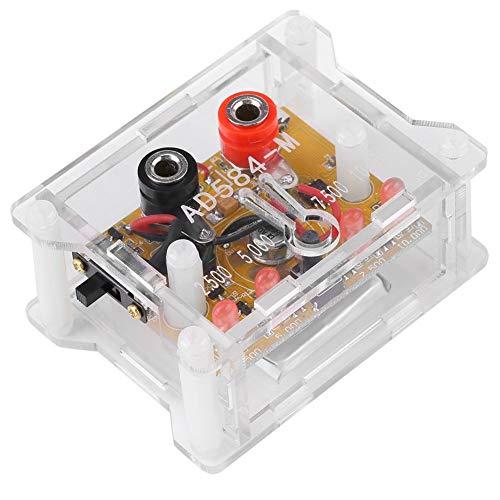 OGUAN PCB Tablero, Módulo de tensión de Referencia, Junta AD584KH Alta precisión de 4 Canales / 7.5V / 5V / 10V de tensión Módulo de Referencia de 2,5 V con el Caso Prototipo de Doble Cara