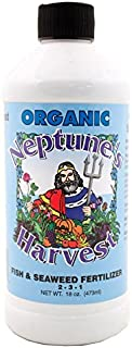 Neptune's Harvest Fish & Seaweed Fertilizer, 18 oz