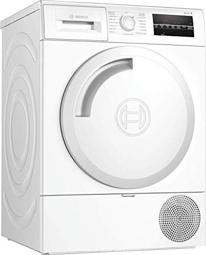 Bosch WTR854A0 Serie 6 Wärmepumpen-Trockner / A+++ / 159 kWh/Jahr / 7 kg / Weiß / AutoDry / EasyClean Filter / AntiVibration™ Design