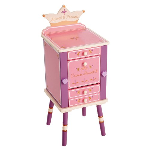Hot Sale Levels Of Discovery Princess Jewelry Cabinet Pink/Purple