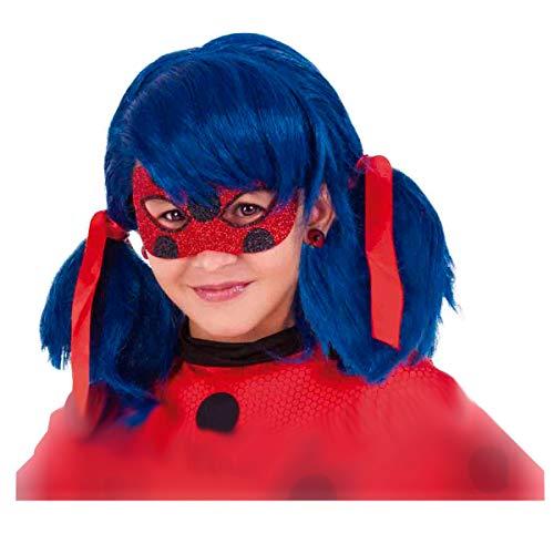 Rubie's Rubies - Miraculous Ladybug Deluxe Augenmaske für Kinder, Einheitsgröße 34975