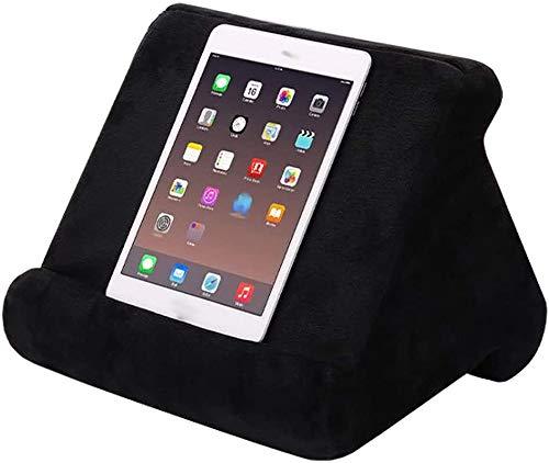 Soporte Tablet,Soporte Móvil,Multiángulo Soporte iPad,Multiángulo Soporte Tablet Mesa,Soporte de cojín para Tablet, Mini Soporte para Ordenador, para Tablets, e-Readers, Smartphones, Libros