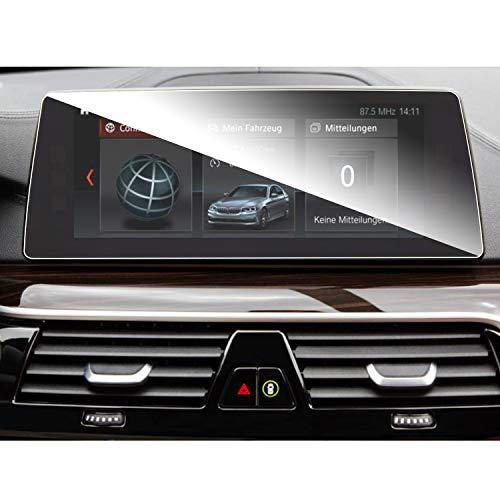 SHAOHAO Auto Navigation Bildschirmschutzfolie für BMW 5er/M510,25-Zoll GPS Transparent Schutzfolie, Kratzfest 9H Anti-Fingerprint Panzerglas gehärtetem Glas
