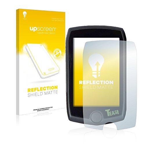 upscreen Entspiegelungs-Schutzfolie kompatibel mit A-Rival Teasi Pro – Anti-Reflex Displayschutz-Folie Matt