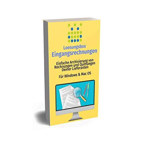 Software: Eingangsrechungen archivieren / verwalten - Für Windows & Mac OS - 11,90€ Jahresgebür inkl. Support