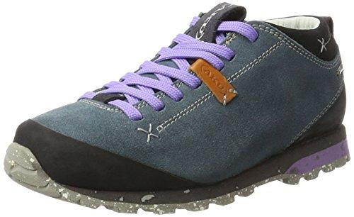 AKU Bellamont Suede GTX, Chaussures de Randonnée Basses Femme - Multicolore - Mehrfarbig (Sugar Paper/Lilac),
