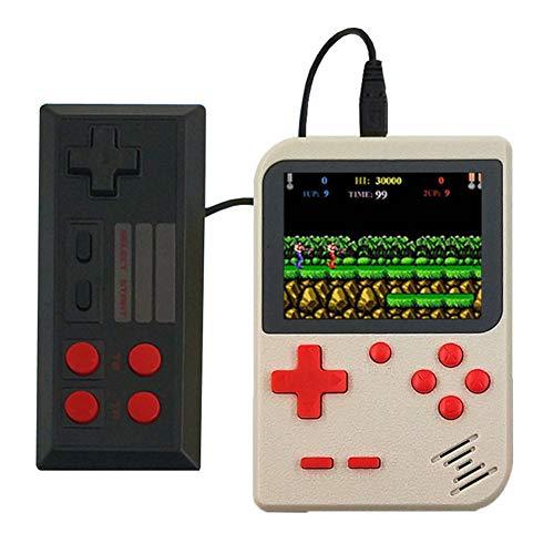 Lunuolao Fc Handheld-Spielekonsole Classic Game, einzigartiges, multifunktional, leicht zu tragen, Akku, Batterielebensdauer lang