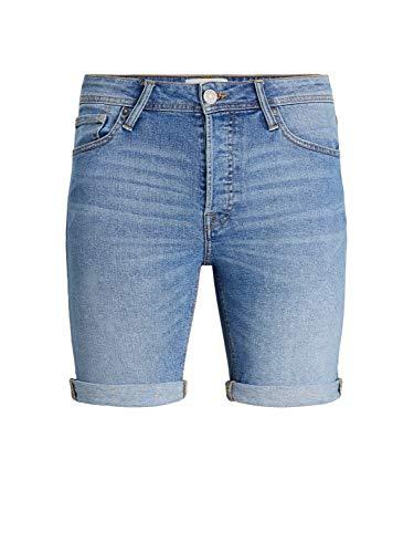Jack & Jones JJIRICK Jjoriginal Shorts NA 030 Pantalones Vaqueros, Azul Denim, XL para Hombre
