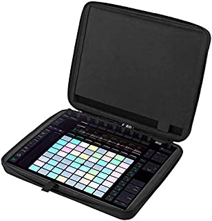 Storage Case for Ableton Push2 Controller, Hard-Shell All-Around Protector, Padded Foam, Crashproof Shockproof Portable Tr...