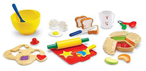 Learning Resources LER9056 Kit de pâtisserie Pretend & Play, LER9056 - version anglaise