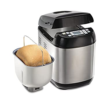 Hamilton Beach (29885 Bread Maker, 2 Lbs. Capacity, Stainless Steel