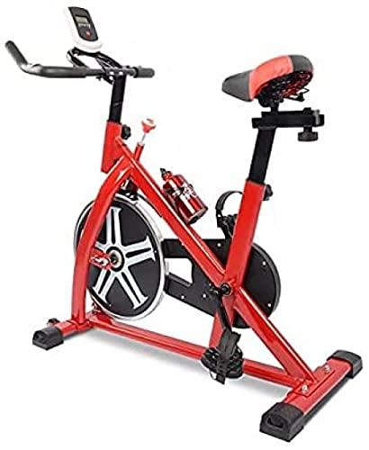 Cyclette Indoor Bike stazionaria con volano 35 LB Workout Bike Home Cardio Fitness Bikes con comoda cintura di sicurezza per l'allenamento
