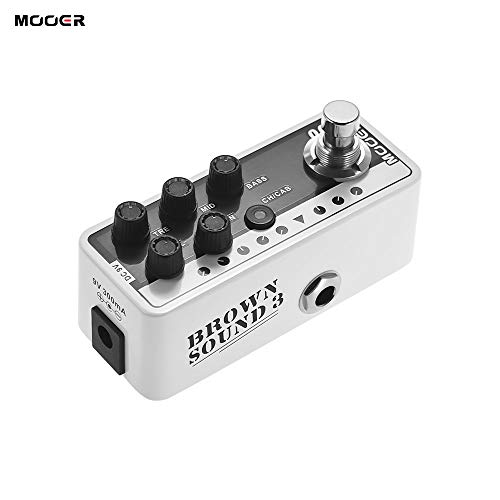 Find Cheap Festnight MOOER MICRO PREAMP Series 005 BROWN SOUND 3 Modern Day 80s Digital Preamp Pream...