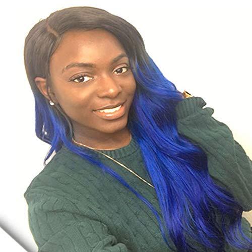 Cheveux Naturel BréSilienne Body Wave 1b/Blue Wholesale Virgin Remy Extensions Unprocessed Bundles Ombre Hair Cheveux 16 Pouces