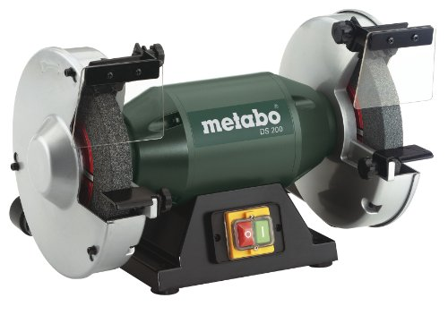 "Metabo - 8"" Bench Grinder - 3, 570 Rpm - 4.8 Amp (619200420 200), Bench Grinders"