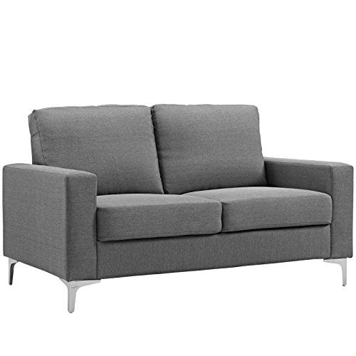 Allure Upholstered Sofa Gray - Modway