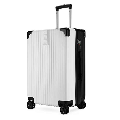 Luggage Case Hard Shell Travel Trolley Suitcase Set 4 Twin Spinner Wheels (20'/22'/24'/26') (22',A)