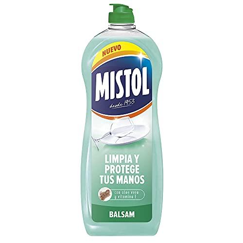 Mistol Aloe Vera - Lavavajillas líquido a mano concentrado 650 ml