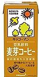 キッコーマン 豆乳飲料 麦芽コーヒー 1L ×6本