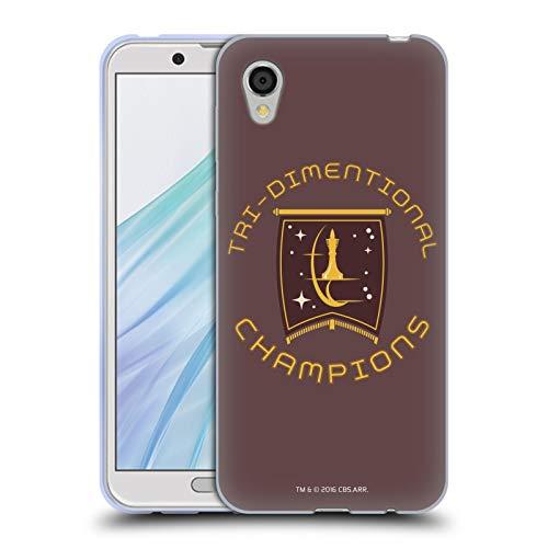 Head Case Designs Licenciado Oficialmente Star Trek Champion Logos de la Flota Estelar Carcasa de Gel de Silicona Compatible con Sharp Aquos Sense2 SHV43