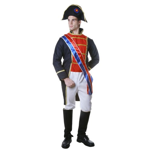 Dress Up America Disfraz Realista de Napoleón: Talla XXL
