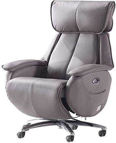 GJNVBDZSF Sillón reclinable eléctrico con Elevador eléctrico, sillón Ejecutivo Sillón ergonómico con función de inclinación, sofá Individual Sillón Giratorio de 360 ° Individual