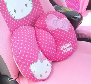 Hello Kitty Sanrio bequem Lendenwirbelstütze Kissen pink by h-m Shop von Hello Kitty